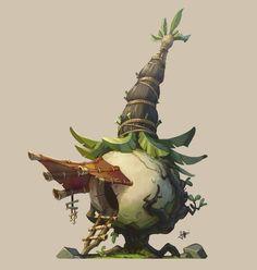 ArtStation - Putt Putt Onion Hut , Jourdan Tuffan