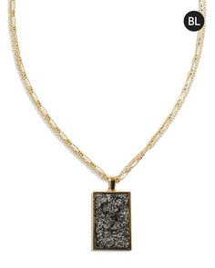 Black Label by Chico's Gold Chain Necklace