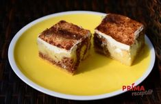 kolac s pudinkem a zakysanou smetanou Tiramisu, Ethnic Recipes, Food, Essen, Meals, Tiramisu Cake, Yemek, Eten