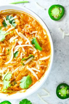 Shredded Chicken Chi