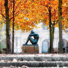 La Nuit by Aristide Maillol in Jardin du Carrousel, Paris.