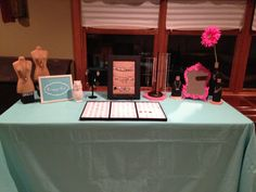 {www.drees.origamiowl.com} Origami Owl table display for Jewelry Bar