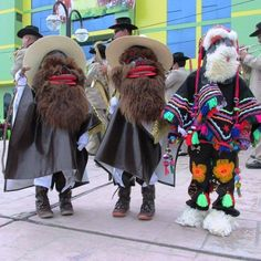 Personajes de la navidad de Acobamba, Huancavelica, Perú.