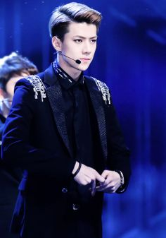 Sehun is one of the most attractive Korean men out there... #sehun #exo