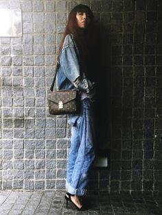 cd23d4141b17 11件】モノグラム コーデ|おすすめの画像 | Casual outfits、Fashion ...