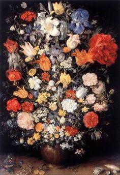Dutch Still Life, Web Gallery Of Art, Pieter Bruegel The Elder, Still Life Flowers, Oil Painting Flowers, Paint Flowers, Floral Paintings, Free Art Prints, Oil Painting Reproductions