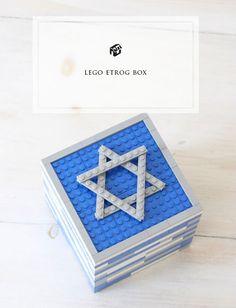 Make an Etrog Box out of Lego - Children's Crafts | Jewish Kids