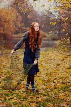 Redheading it in autumn