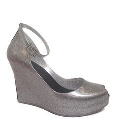 Another great find on #zulily! Silver Jovial Jelly Wedge #zulilyfinds