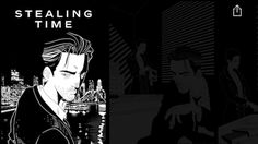Chanel tells J12-themed crime serial across Vogues online presence  Opening frame to Chanels graphic novel Stealing Time  French atelier Chanel is promoting its J12 timepiece offerings in a new graphic novel housed on Vogues homepage.  The first episode of Stealing Time appears as a banner across the top of the Condé Nast-owned publications Web site and shows the female protagonist and a Chanel timepiece. The sponsored graphic novels episode launched Nov. 23 for readers in the United Kingdom…