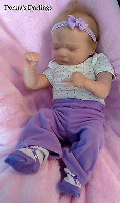 Asher asleep REALBORN new release baby girl REBORN Limited edition 216/1500