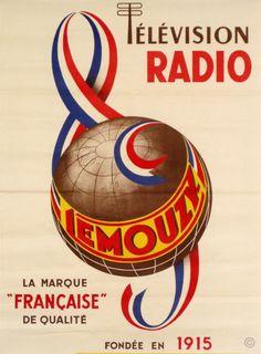 Radio-Television Lemouzy - années 1950 -