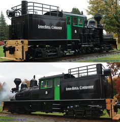 Restored Shay Locomotive in Longview, WA., one of only 120 left in the world.