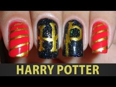 ▶ Unhas Decoradas - Harry Potter - YouTube