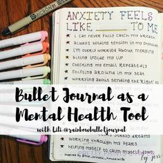 We are continue the conversation about how to use our bullet journals for managi. We are continue the conversation about how to use our bullet journals for managing mental health with today's guest, Lili Self Care Bullet Journal, Bullet Journal Spread, Bullet Journal Ideas Pages, Bullet Journal Inspiration, Bullet Journals, Journal Layout, Journal Prompts, Therapy Journal, Mental Health