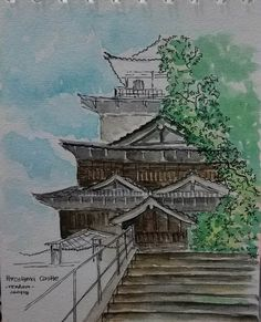Hiroshima Castle on my version..🏯