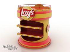 Lays Display Gondolas (2 options) on Behance