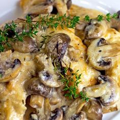 This Baked Italian Cheesy Mushroom Chicken is super moist and full of flavour.
