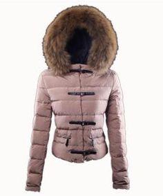 Moncler winter jackets women pure color black double collar dress