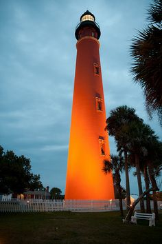 Ponce de Leon Inlet Light - Ponce Inlet, Florida