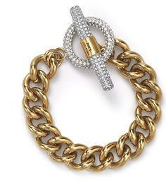 Juicy Couture Luxe Rocks Crystal Link Bracelet, $112
