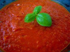 My Super Simple Spaghetti Sauce