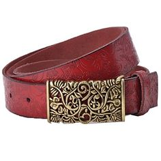 THIS IS SUCH A GORGEOUS BELT!! - REAL LEATHER, A GREAT ITEM TO HAVE IN THE WARDROBE!! 🛍