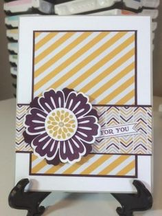 Stampin' Up! Mixed Bunch, Itty Bitty Banners, and Moonlight Designer Series Paper