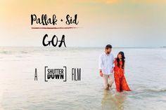 Destination wedding of Pallak & Sid in Goa.