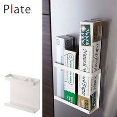 ラップホルダー磁石キッチン雑貨収納