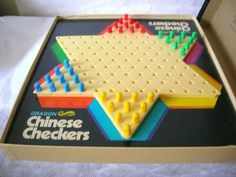 Vintage Dragon Chinese Checkers from Milton Bradley 1973 Edition in Toys & Hobbies, Games, Board & Traditional Games | eBay