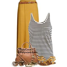 """Mustard"" by cindycook10 on Polyvore"