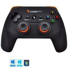 Dragonwar Shock Ultimate 17 Key Wireless Game Controller Gamepad for PC