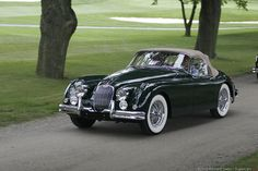 1960S Jaguar Roadster For Sale | In 1960 Jaguar upgraded their XK engine to have a displacement of 3781 ...
