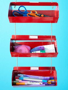 After: Hanging Tool Caddy