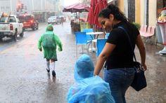 Prevén lluvias fuertes en la Península de Yucatán
