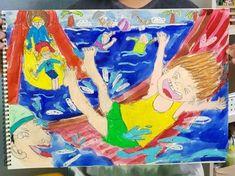초등부 그림 : 네이버 블로그 Искусство Для Детей, Художественное Образование, Аукцион, Дети, Рисунки, Illustration, Школа, Отпуск