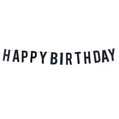 Girlander Happy Birthday sort