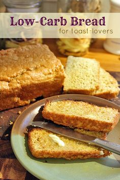 Low-Carb Bread for Toast Lovers 1 cup flax seed flour or ground flax seeds cup chick pea flour 7 whole eggs, separated tsp cream of tartar 5 Tbsp Olive Oil 1 Tbsp Baking Powder 1 tsp Salt cup water 3 packets artificial sweetener (Stevia or Sweet-n-Low) Gluten Free Baking, Gluten Free Recipes, Bread Recipes, Low Carb Recipes, Cooking Recipes, Primal Recipes, Lowest Carb Bread Recipe, Low Carb Bread, Low Carb Keto