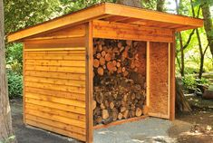 Custom-built Wood Sheds made from recycled and reclaimed Douglas Fir are available. Wood Sheds can be built to customer specifications.