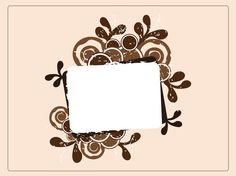 Card Frame vector free