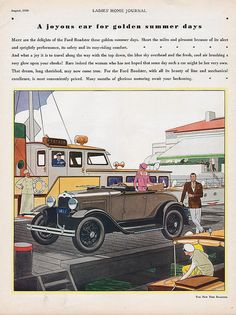 1930 Ford Standard Roadster Ad
