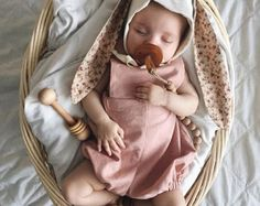 2dc348ba06 Emmies Room · Rose Pink Linen cotton romper   Baby romper  Ash colored  unisex childrens romper -