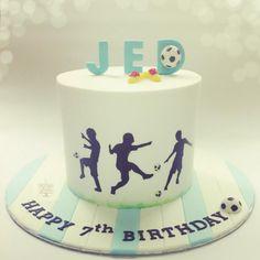 Soccer Cake  - Cake by thecakeaddiks