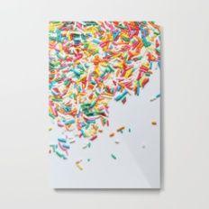 Sprinkles Party II Metal Print