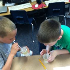 Lung experiment with bubbles