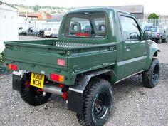 Mini Trucks, Cool Trucks, Pickup Trucks, Jimny Suzuki, Bronco Truck, Truck Flatbeds, 504 Pick Up, Jimny 4x4, Nissan Diesel
