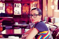 """housingworksbookstore:  """"Women often have a great need to portray themselves as sympathetic and pleasing, but we're also dark people with dark thoughts. I wanted to have that on the page, as horrible as it might seem."""" —Zadie Smith via The world according to Zadie Smith - ES Magazine - Life & Style - London Evening Standard"""