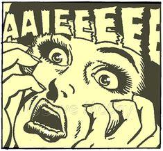 AAIEEEEEE! - Onomatopoeia comic