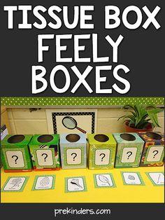 Teach with Trash: Tissue Box Science